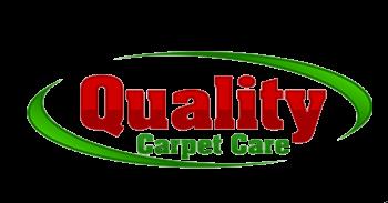 Quality carpet care logo